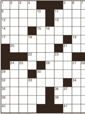 File Image - Crossword Illustration