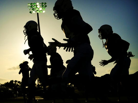 Monday is the first day of high school football practices.