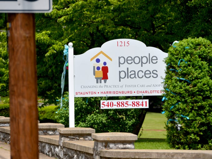 A sign marks the location of People Places on North