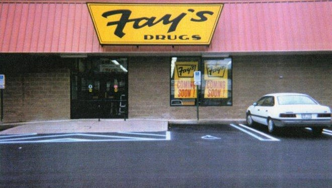 Storefront of a Fay's Drugs store.
