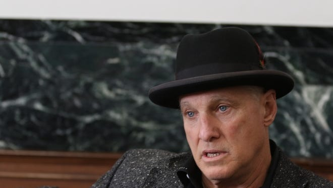 Cincinnati restaurateur Jeff Ruby visited the courthouse Thursday to offer support for the DuBose family as the jury deliberated in Ray Tensing's murder trial.