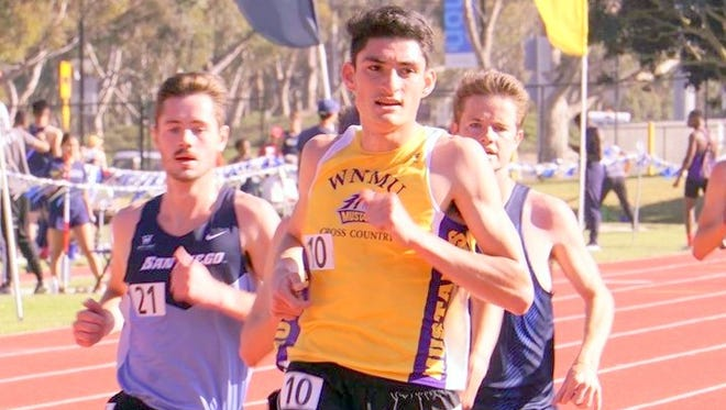Jose Rojas of Western New Mexico University received a Degree Completion Award from the NCAA.