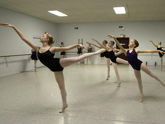 Members of the Appleton-based Makaroff Youth Ballet