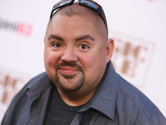 Gabriel Iglesias requests pork rinds but no onions for his dressing room.