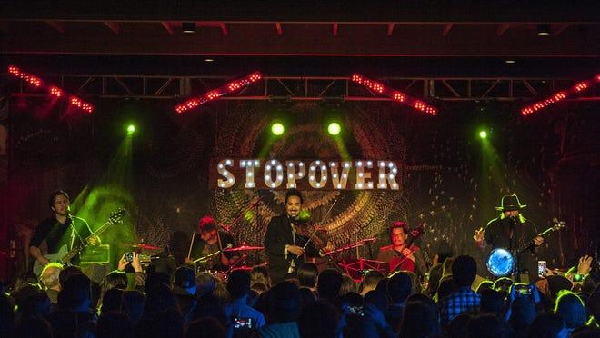 Kishi Bashi at the 2017 Savannah Stopover Music Festival.