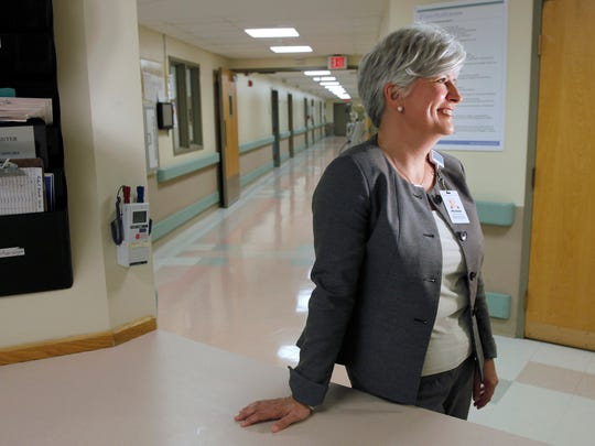 Michele Grazulis is the vice president of human resources at Unity Health System. She worked at Xerox for 20 years before coming to Unity almost three years ago.
