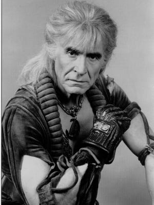"""Ricardo Montalban (and a great hairpiece) starred in """"Star Trek II: The Wrath of Khan"""" (1982)."""