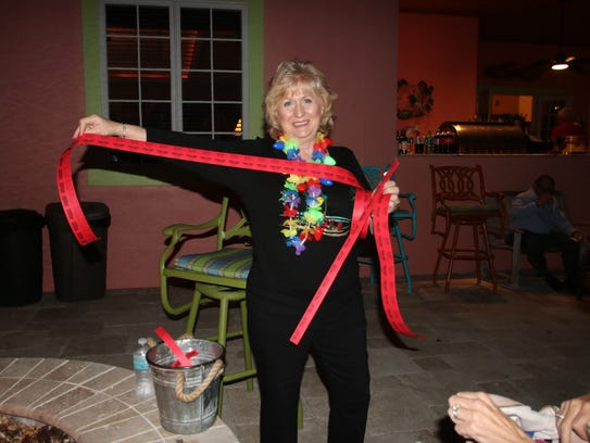 Mustard Seed MInistries auxiliary member Beverly Donahue