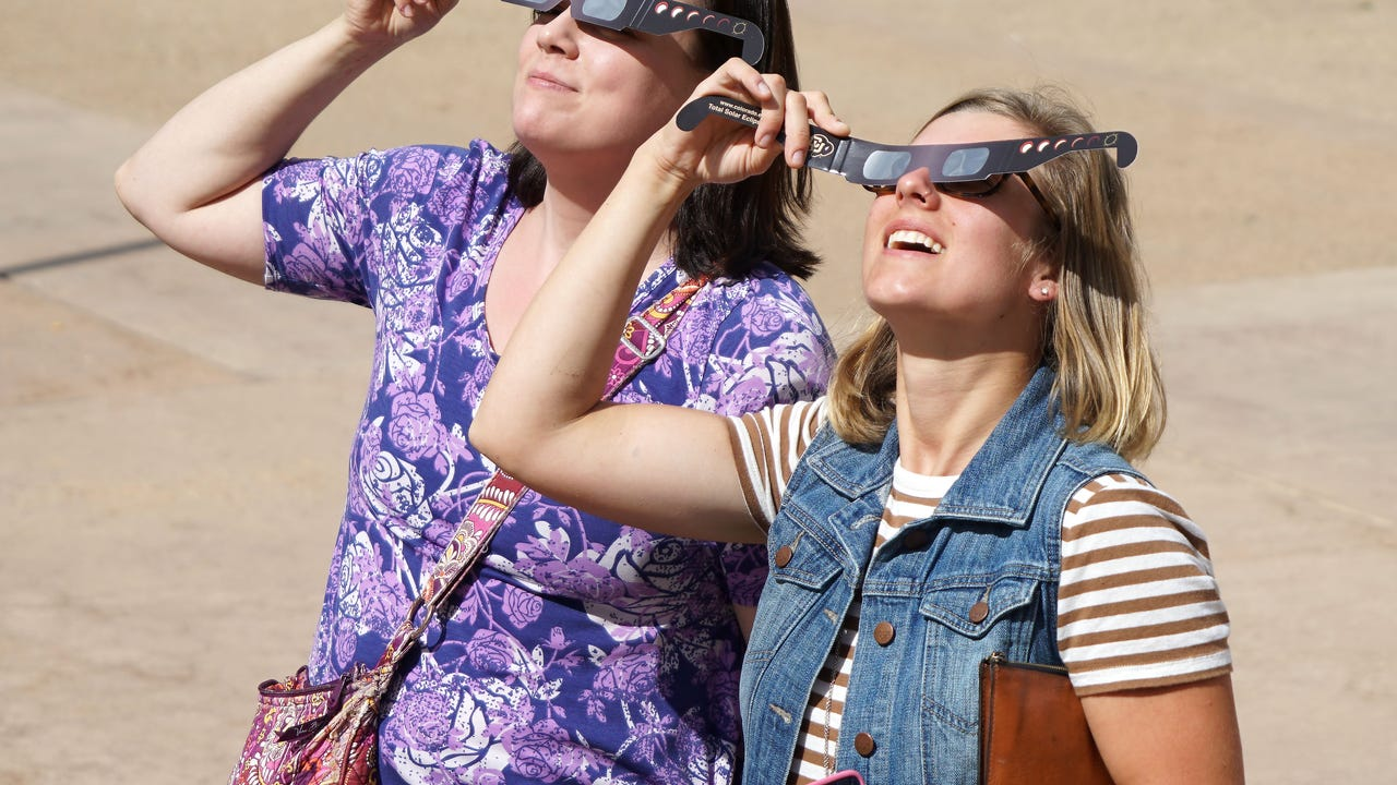 Eclipse glasses shortages being reported