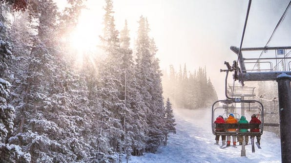 The $439 Rocky Mountain Super Pass for the 2014-15 season includes unlimited skiing and riding at Copper Mountain and Winter Park, six unrestricted days at Steamboat and three unrestricted days at Crested Butte.