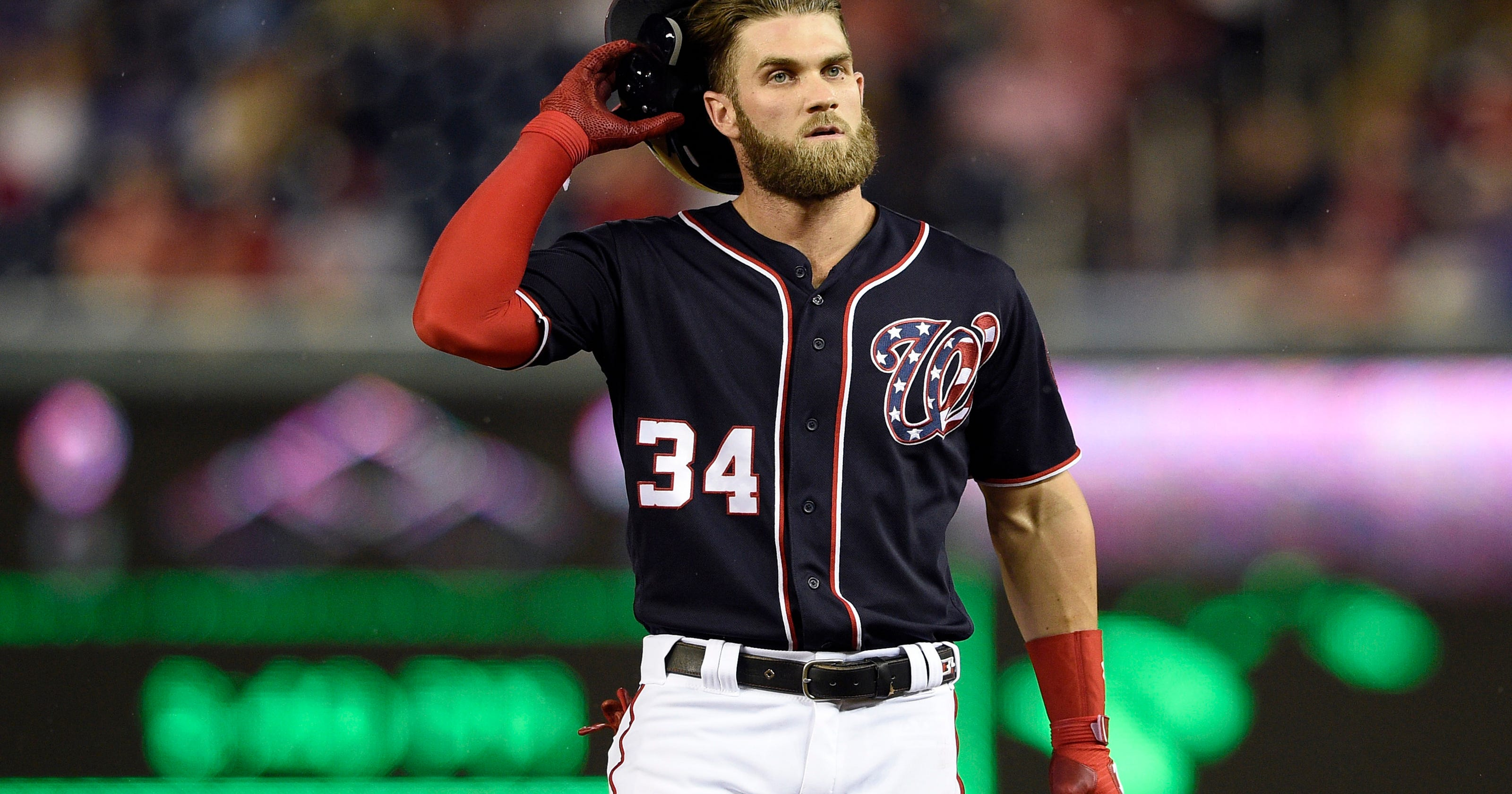 c4b69479798 Rizzo  Nats made offer to Bryce Harper late in season