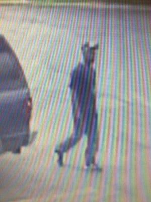 Suspect sought in Westampton Wawa brawl.
