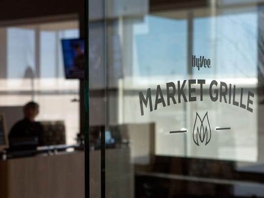 Hy-Vee Market Grille restaurants in the metro are offering lunch and dinner delivery.