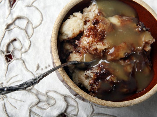 Woodford Reserve's chocolate bread pudding