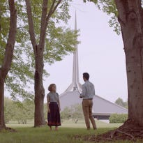 Modern love: Columbus architecture plays starring role in new film made in Indiana