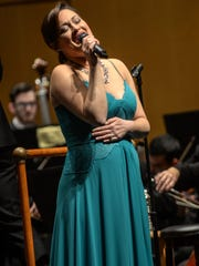 Broadway star Ashley Brown will join the Shreveport Symphony Orchestra in concert on Oct. 27.