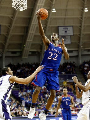 Andrew Wiggins, Kansas: 27 points, 5 rebounds, 5 assists in a Jan. 25 win over TCU.