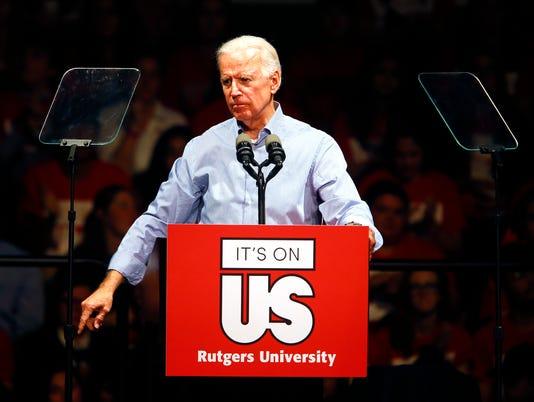 Joe Biden at Rutgers