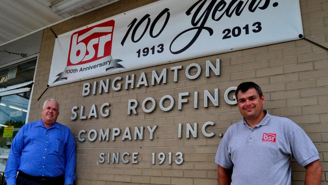 Charles Griffiths Jr., left, and Greg Griffiths are the father-son team running BSR.