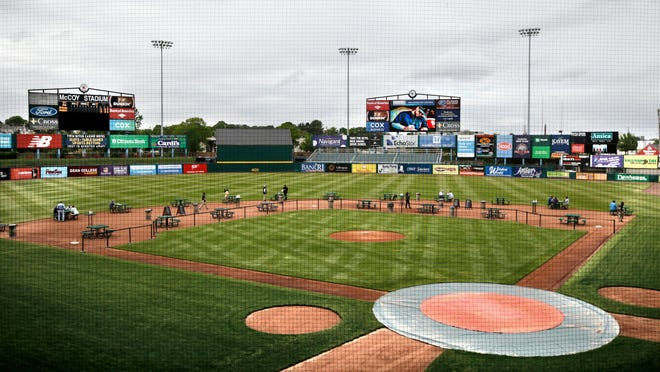 Team owners have put away the picnic tables and discontinued the popular Dining on the Diamond promotion as McCoy Stadium is again playing host to Red Sox prospects.