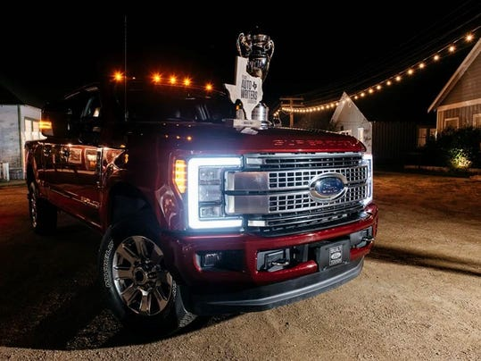 New Aluminum Ford Super Duty Named Truck Of Texas