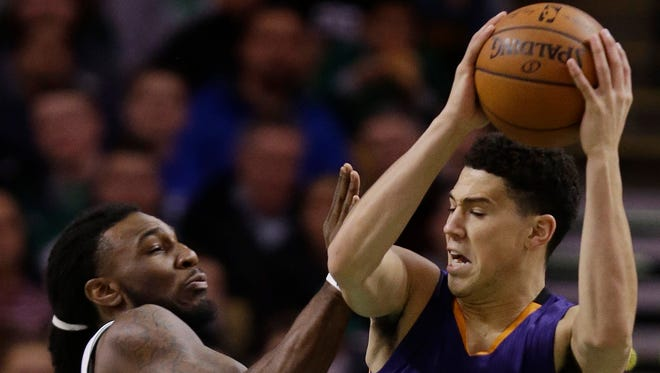 Since Eric Bledsoe went down with a season-ending knee injury, Booker has averaged 13.4 points on 46.8% shooting