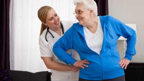 National Nursing Home Week, May 10-16, is an annual weeklong celebration established by the American Health Care Association.