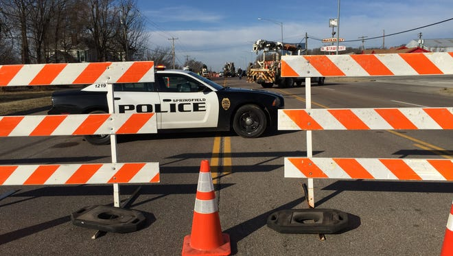 Chestnut Expressway was closed in both directions Sunday morning in west Springfield.