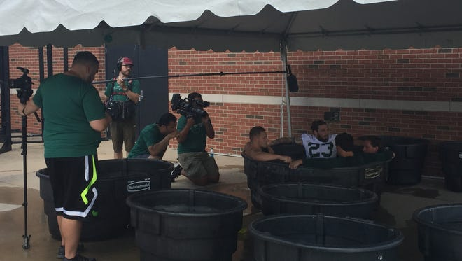 BTN's 'Green and White Days' provides a behind-the-scenes look at MSU training camp.