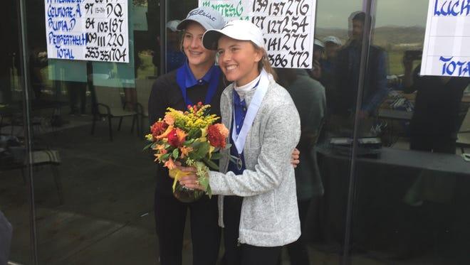 Karen Beglin, left, and her sister Jill.