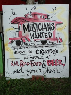 The Crum Box Gastgarden in Railroad Square hosts local musicians every Thursday.
