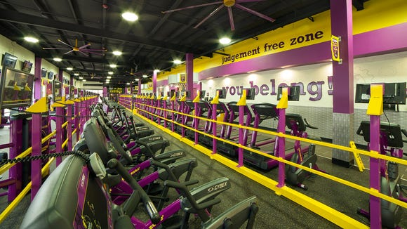Planet Fitness recently opened in the Central Station Shopping Center at Central Avenue and South Second St.