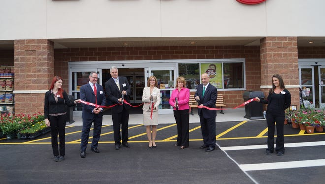 Tops Friendly Markets held grand-opening celebrations Tuesday at two new locations in Wayne County.