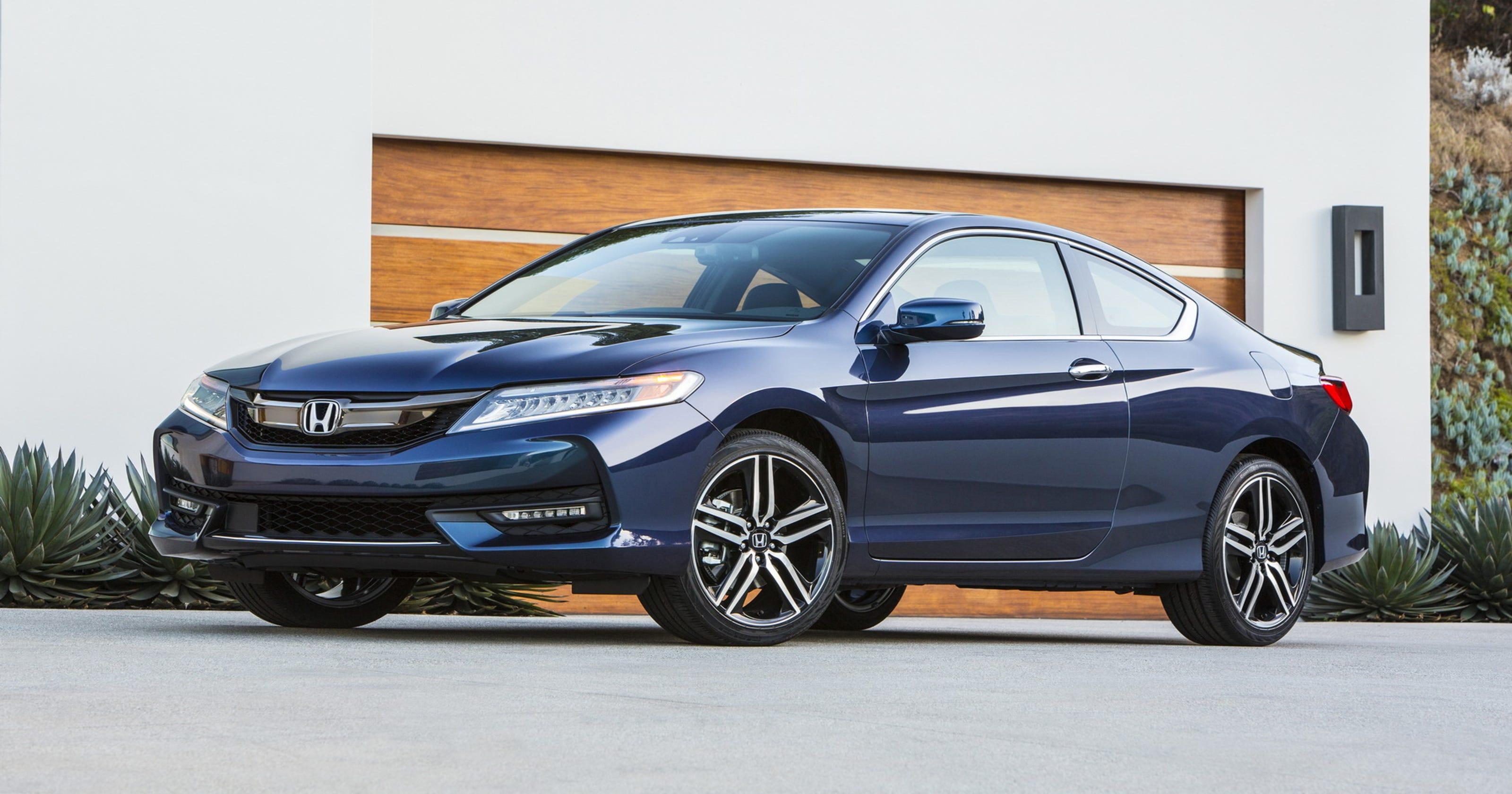 Honda Pay Bill >> 2016 Honda Accord Coupe still the benchmark