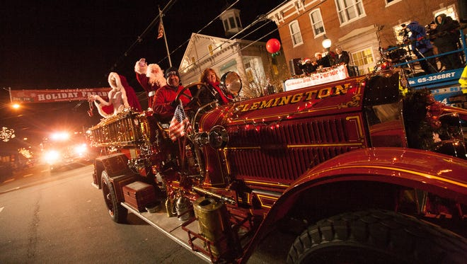 The annual Hunterdon Holiday Parade was held on Sunday, Dec. 4.