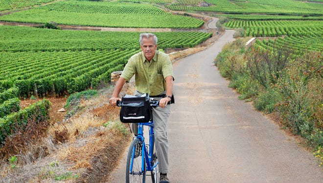 Biking through the world-famous vineyards of Burgundy's Cote d'Or can be intoxicating.