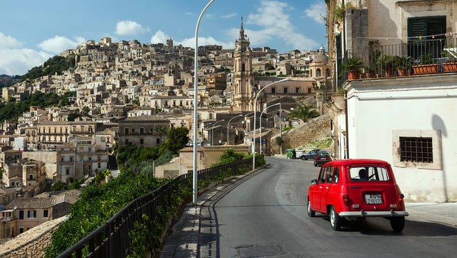 Brace yourself for driving in Italian cities (such as Modica in Sicily): Drivers may be more aggressive than you're used to.