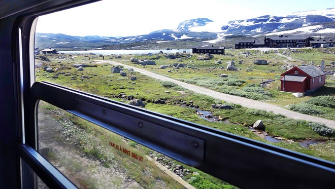 The first leg of the Norway in a Nutshell experience is one of the prettiest train rides you'll ever experience, taking you across Norway to a land of rocky landscapes and glaciers.