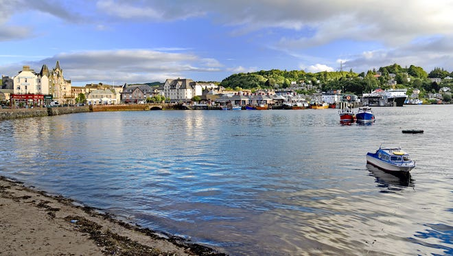 The picturesque seaside town of Oban, on Scotland's west coast, grew up around its distillery, which was founded in 1794.