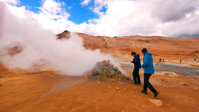 Iceland's thermal features are fascinating — but beware that testing the waters can result in severe burns.