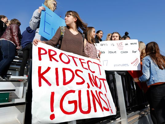 AP STUDENTS WALKOUTS GUN VIOLENCE OKLAHOMA A USA OK