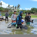 Youth spearfishermen learn conservation, safety