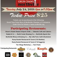 Northville chamber hosts annual grub crawl