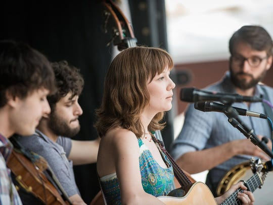 The Molly Tuttle Band is one of the progressive Americana acts performing at the Winter Village Music Festival.