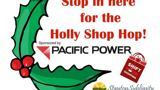 Holly Shop Hop poster