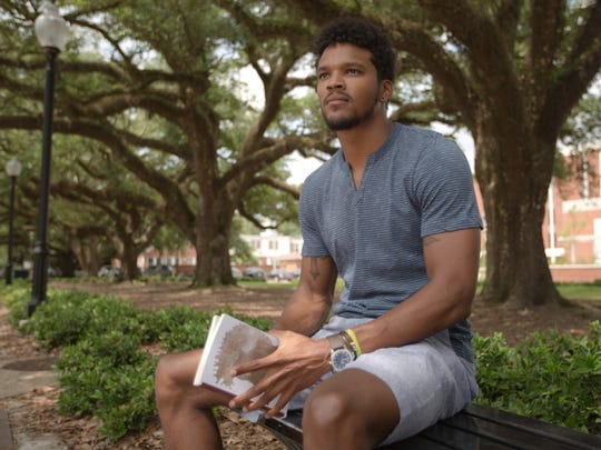 Justin Arceneaux was recently featured on the Humans of Lafayette Facebook page and Instagram account that local photographer John Weatherall III started.