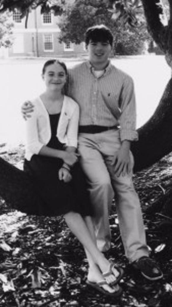 Morgan and Blake Briggs (Photo courtesy of the Briggs family.)