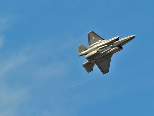 Luke Air Force Base is designated as a training base for pilots of the new F-35, which will replace the West Valley base's F-16s.