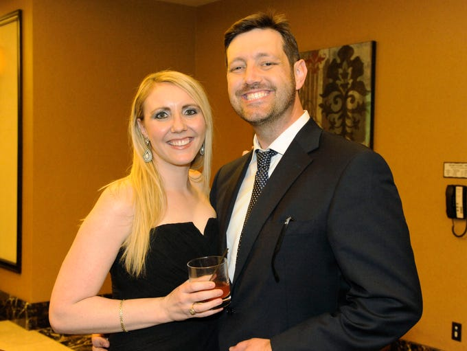 Katie and Steve Silva attend Catholic Charities of Northern Nevada's Plates to Ease Poverty Dinner Thursday Aug. 28, 2014 at the Atlantis.