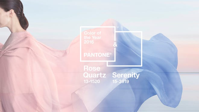 Pantone has selected two colors for 2016.